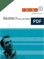 Frama c Acsl Implementation