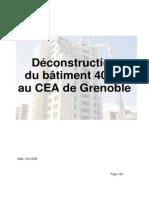 Deconstruction Du Batiment 40-21