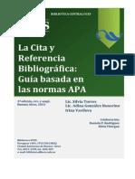 Citas Bibliograficas APA 2012