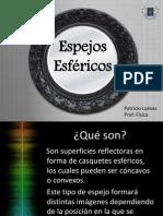 Fisica Espejos Esféricos Disertación