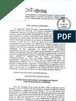 Requerimiento Para Impugnar Normas de  Fertilidad (fotocopia oficial(