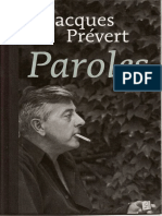 Prévert, Jacques - Paroles