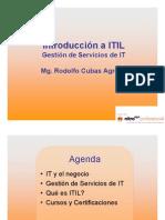 ITil v3 Business IT- ITIL