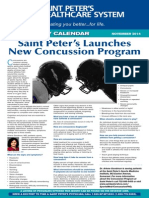 Saint Peter's Launches New Concussion Program