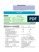 Mock Test for JEE Main Exam