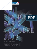Programme Complet Nuit Blanche 2008