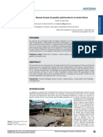 Nuevas formas de gestion patrimonial en el cantón Ibarra