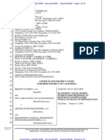 Perry Plaintiffs' Response to Prop. 8 Proponents' Notice of Filing of Privilege Log, Filed 12-28-09