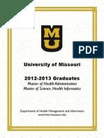 2012-2013 HMI Resume Book