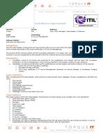 ITIL Intermediate- Continual Service Improvement