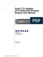 Netgear Push 2 TV Manual