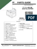 Parts Manual AR-5220