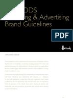 Harrods Brand Guidelines 2014