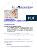 Devenir Riche en Micro-Investissant
