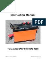 Manual Terrameter