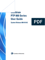 Cambium PTP800 Series 05-02 User Guide
