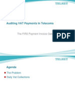 Auditing VAT Payments In Nigerian Telecoms