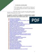 Pedagogia Waldorf - Temas en la UNESCO