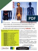 Posgrado en Psiconeuroinmunoendocrinologia 3ª Edición