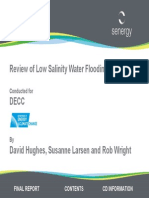 Low salinity EOR 2012