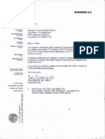 Los Angeles County Correspondence re Long Beach Paramedic System
