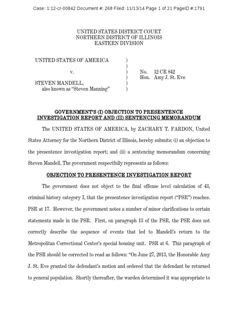 government sentencing recommendation for steve mandell | united, Powerpoint templates
