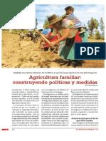 Análisis al reciente informe de la FAO y a uno de los proyectos de ley del Congreso Agricultura familiar
