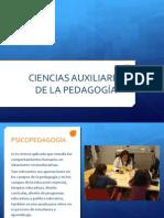 Ciencias Auxiliares de La Pedagogia