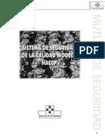 Sistemas de Seguridad de La Calidad Modelo HACCP
