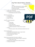 Bee Notes