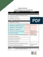 2. Attach Jadwal & Perlengkapan