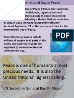 World Peace Ppt