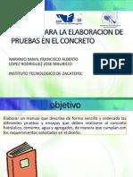 Manual Para La Elaboracion de Pruebas en El