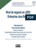 Nivel de Negocio en J2EE - EJB