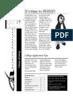 Senior Newsletter Fall 2014