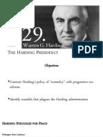 02 12-2 the harding presidency