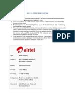 Airtel Company Doc