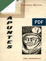 Apuntes (Lo Nuestro)