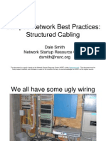 Cabling and Infrastructure Topics