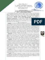 5ta. Asamblea General Extraordinaria Consejo Directivo 2010-2013, Proceso Electoral y Cambio de Consejo Directivo 2013-2016