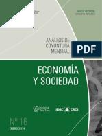 ECONOMIA Y SOCIEDAD - N 16 - ENERO 2014 - PARAGUAY - PORTALGUARANI