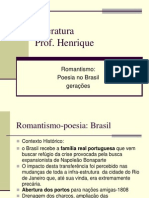 Romantismo - Poesia Brasil