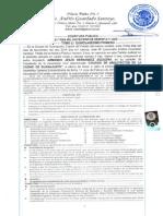 4ta. Asamblea General Extraordinaria 2010-2013, Aprobacion de Estatutos.