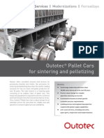 OTE Outotec Pallet Cars for Sintering and Pelletiz