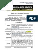 Agente Da PF Informações Importantes