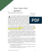 Argentina - Crise Paradigmática