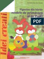 Figurine Din Hartie.modele de Primavara Si de Pasti