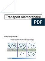 TD Transports Membranaires