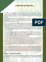 Breve Historia de Adepcoca