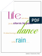Dance in the Rain Printable